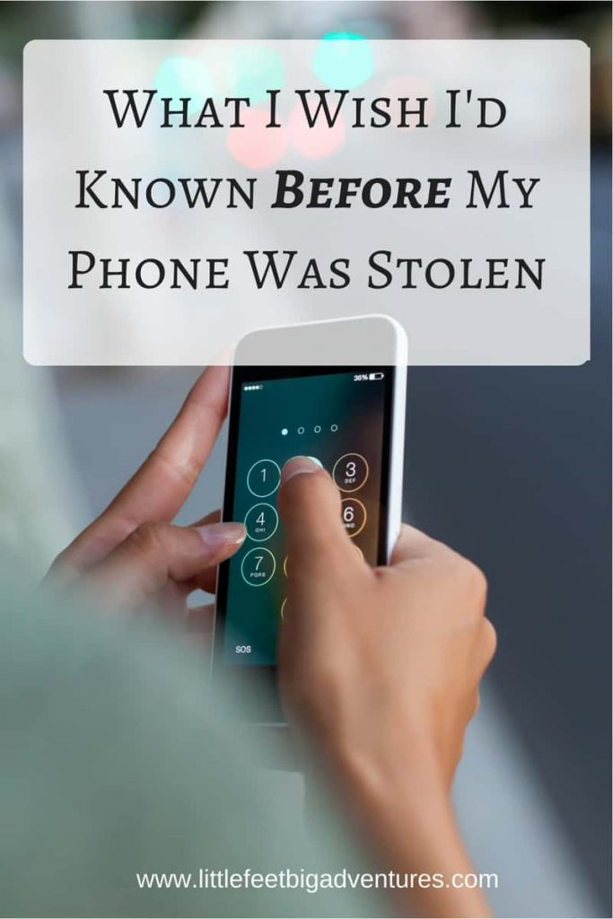 What I Wish I'd Known Before My Phone Was Stolen