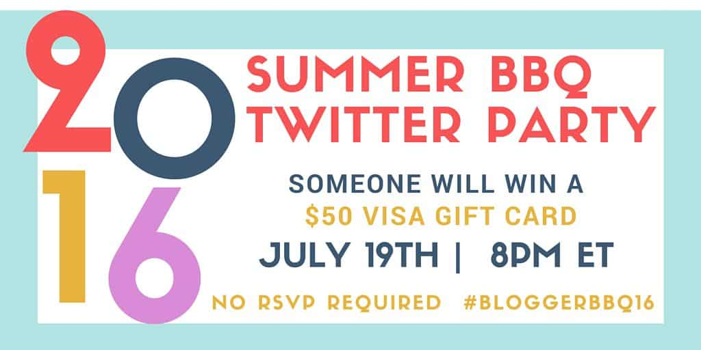 Summer BBQ Twitter Party #BloggerBBQ16
